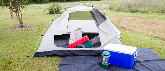 Photo of a 2 person camping package