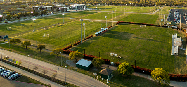 Ariel Photo of Soccer Fields